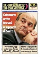 Bersani a Catanzaro
