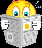 smile che legge news