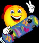 smile skatebord