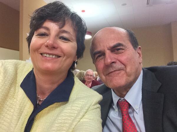 Bersani e il Ministro M. C. Carrozza