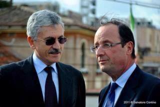 D'Alema e Hollande