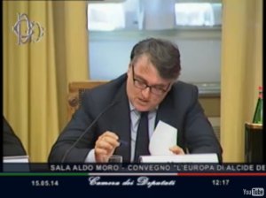 Miguel Gotor, saggista e Senatore PD