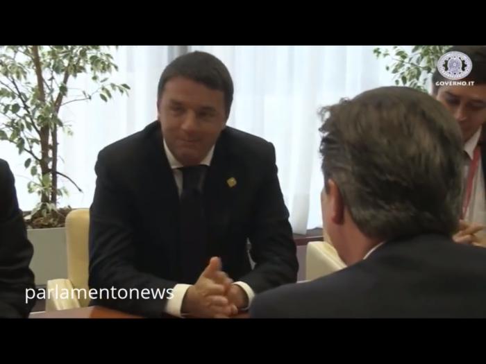 Renzi al summit del 5 giugno