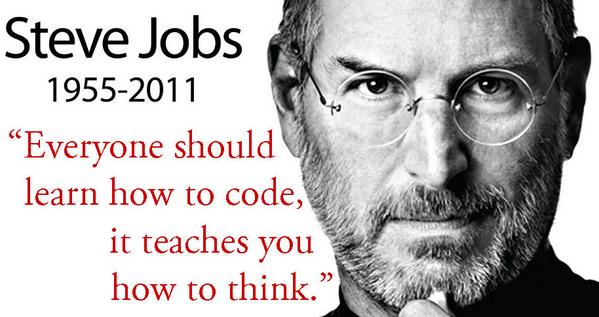 Steve jobs coding