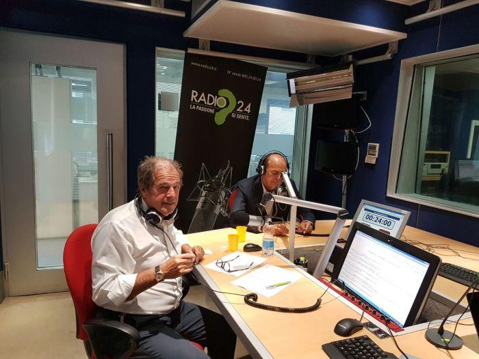 Pierluigi Bersani - Faccia a Faccia con Pietrangelo Buttafuco e Mario Sechi a Radio 24 - Mix , trasmissione condotta da Giovanni Minoli